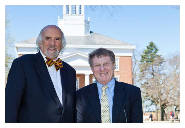 Tom McBride and Ron Nief
